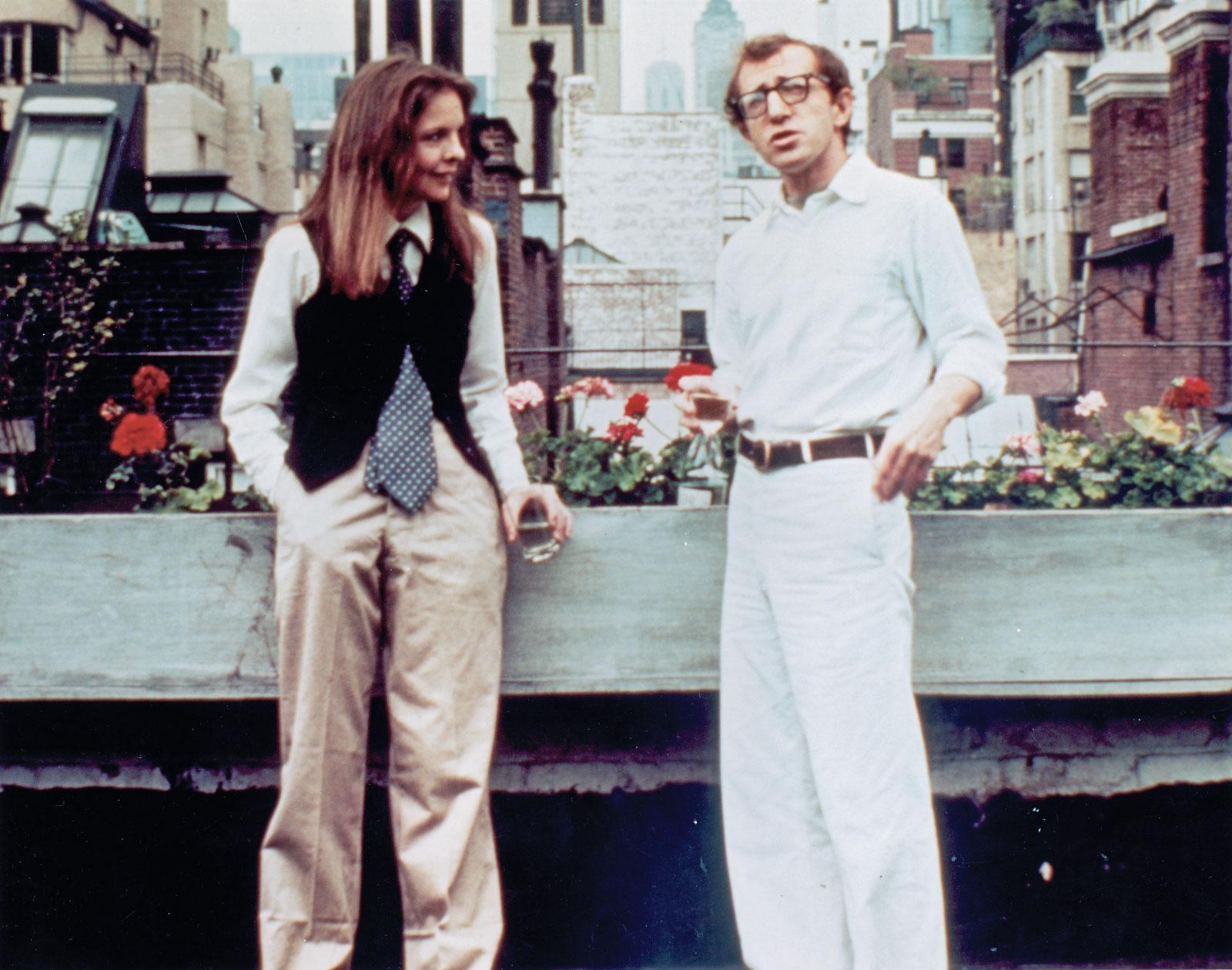 Dynamic Duo: Woody Allen & Diane Keaton | silver velvet sky  Dynamic Duo: Wo...